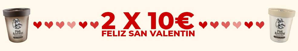 2X10 PROMO SAN VALENTIN PINK ALBATROSS VEGACELONA TIENDA VEGANA ONLINE BARCELONA VEGAN FOOD SHOP STORE