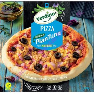 PIZZA ATUN PLANTUNA UNFISHED VEGANO VERDINO