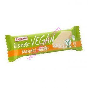 comprar barrita vegana de chocolate blanco frankonia online tienda vegana vegacelona barcelona