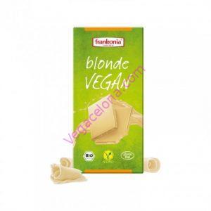 comprar chocolate blanco frankonia 100gr online tienda vegana barcelona vegacelona