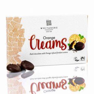 comprar bombones de chocolate negro con NARANJA whitetackers online tienda vegana vegacelona