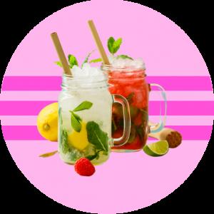 Kombucha y refrescos